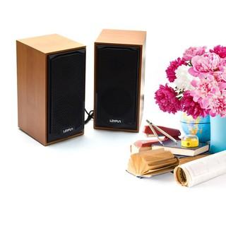 Loa mini Loyfun M22 vân giả gỗ sang trọng, âm thanh hay