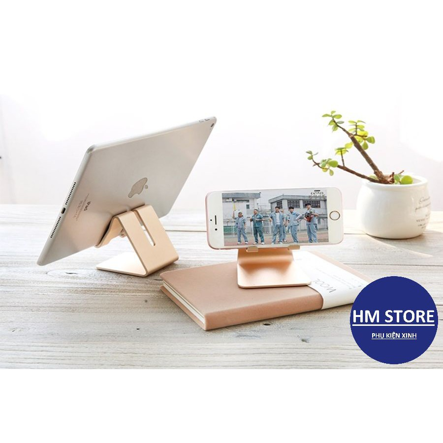 Kệ điện thoại, giá đỡ điện thoại, ipad, máy tính bảng chân đế chắc chắn