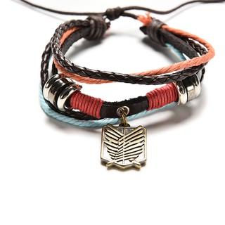 Leather Bracelet For Shingeki no Kyojin