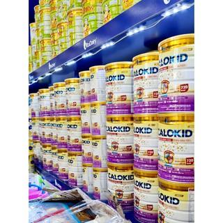 [MUA SỮA TẶNG XE ĐẨY SIÊU GỌN] Sữa Calokid 900gr cho bé suy dinh dưỡng thấp còi