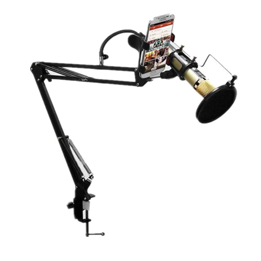 GIÁ ĐỠ MICRO THU ÂM - Chân kẹp bàn Microphone