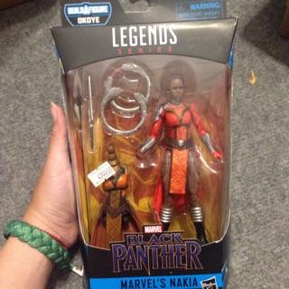 Mô hình Marvel Legends Nakia chính hãng ship Us