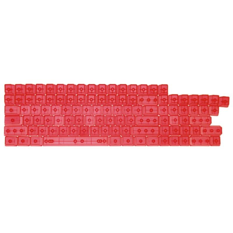 Bàn Phím 104 Phím Bằng Nhựa Abs Trong Suốt Cho Oem Mx Switches