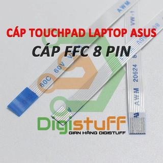 Cáp nối touchpad 8 pin AWM 20624 AWM 20706 AWM 20861 thay cáp Xinya CviLux HAMBURG-SH-HF High-Tek JI-HAW