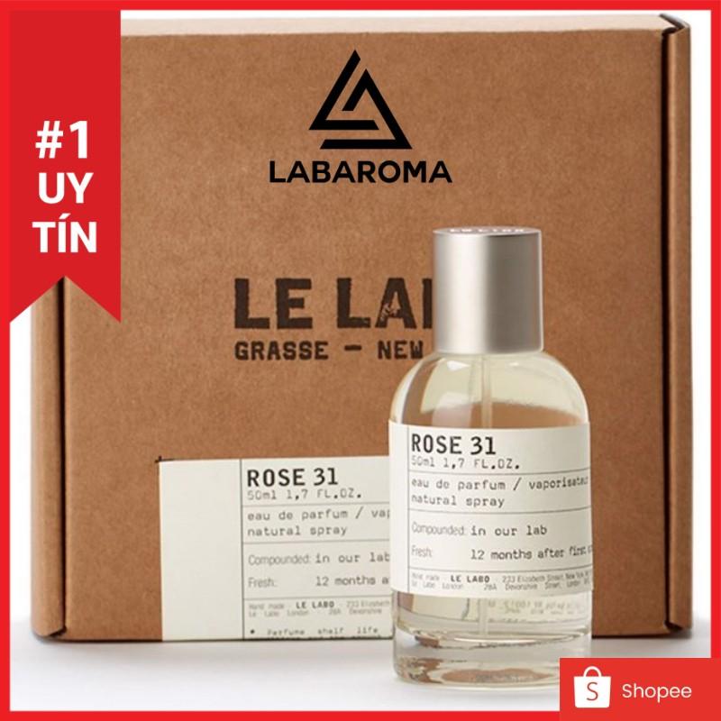 Tinh dầu nước hoa Le Labo Rose 31 xông phòng, khử mùi, làm dầu thơm, tạo hương cho shop 10ml (Hàng nhập khẩu)