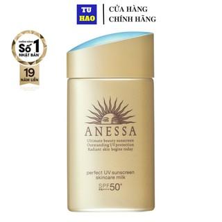 Sữa chống nắng bảo vệ hoàn hảo Anessa Perfect UV Sunscreen Skincare Milk 60ml thumbnail