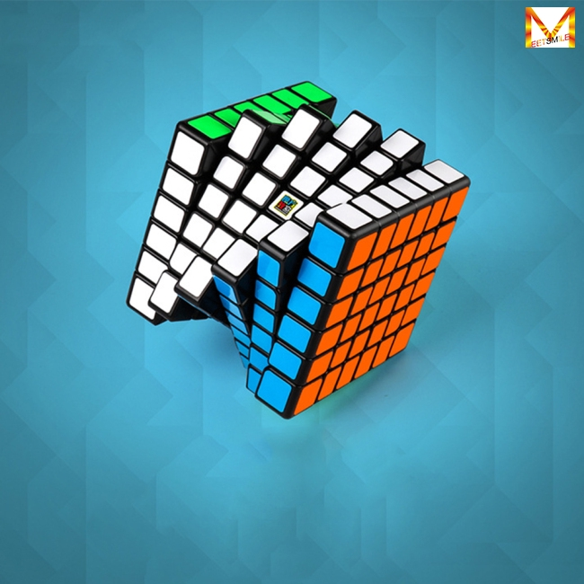 Portable 6×6 Magic Puzzle Cube High Speed Smart Cube Intellectual Development Toys