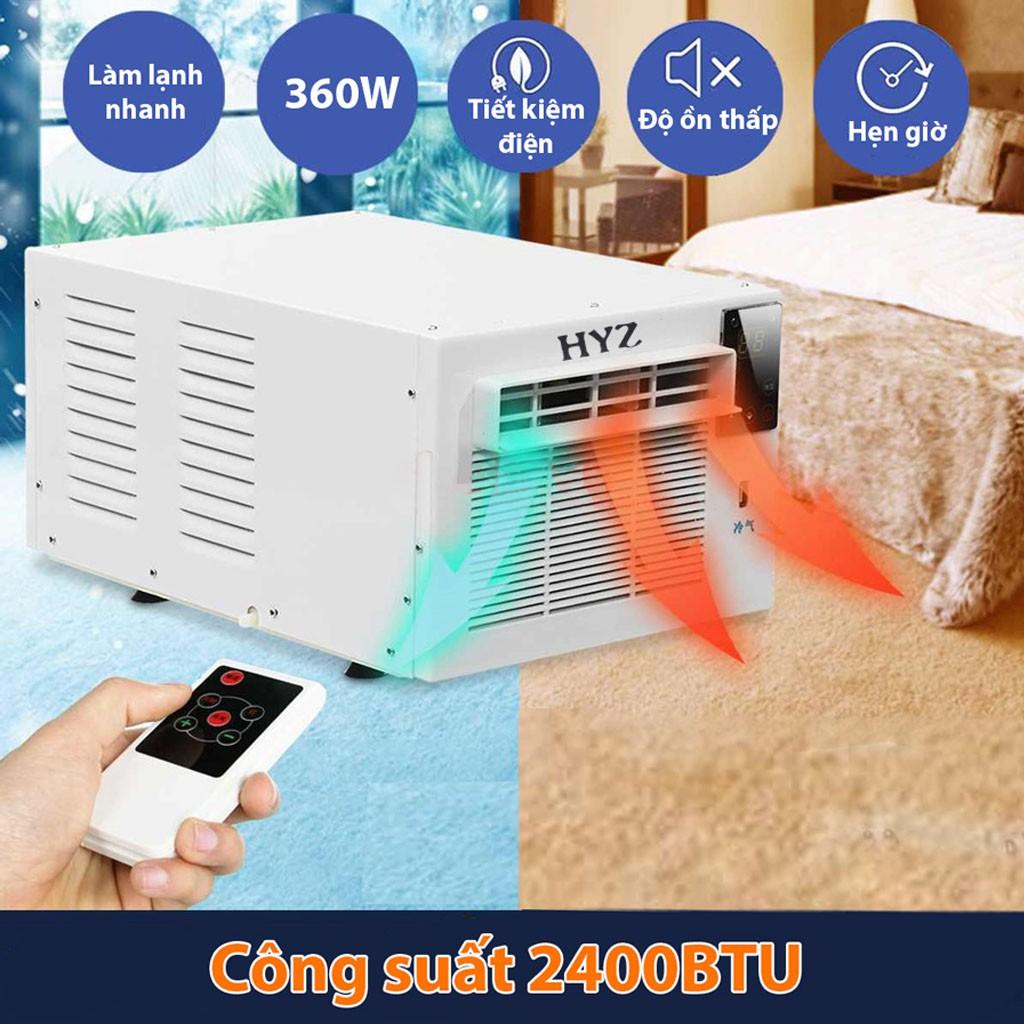 [Mã 267ELSALE1 giảm 5% đơn 3TR] Máy Điều Hòa Mini Di Động 2 chiều tiết kiệm điện HYZ - Model KZY -11 -DC4502