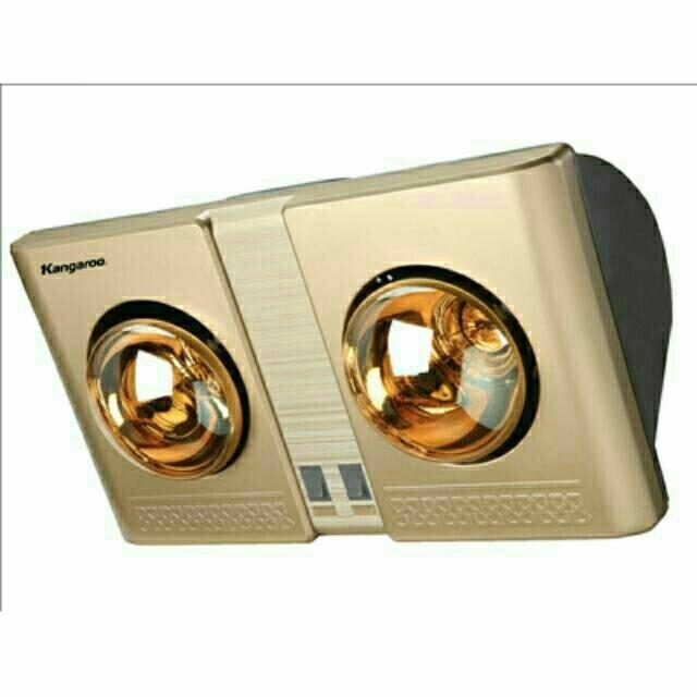 Đèn sưởi nhà tắm Kangaroo KG247 2 bóng