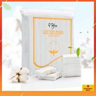 Bông tẩy trang, bông tẩy trang 222 miếng cotton pad hàng nội địa trung thumbnail