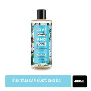 Sữa tắm dưỡng ẩm dịu nhẹ thanh mát Love Beauty And Planet Petal Soft 400ml thumbnail