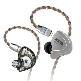 CCA C10 4BA+1DD Hybrid In Ear Earphone Hifi Dj Monito Running Sports Earphone Cable 10 Drive Unit Headset Noise Cancelling