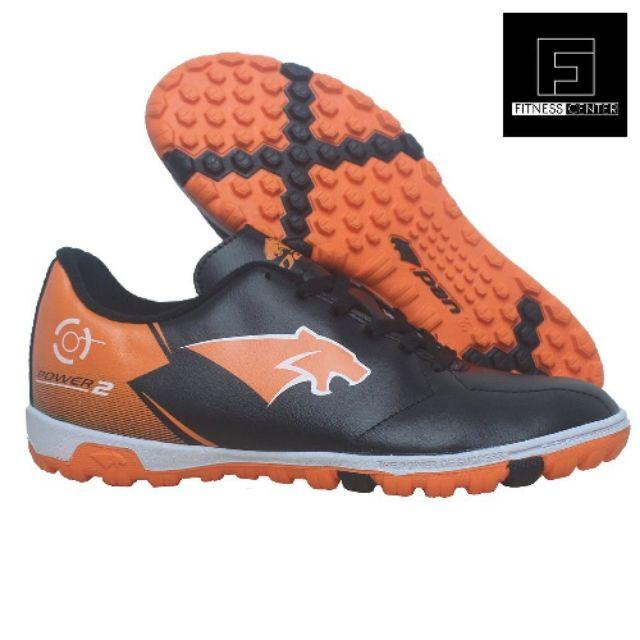 Giày đá bóng đế đinh PAN Power 2 TF Đen Cam