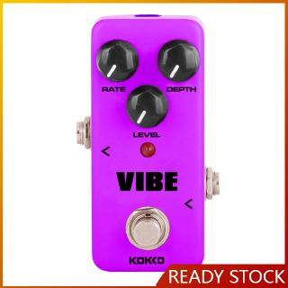 KOKKO FUV2 VIBE Mini Analog Rotary Speaker Electric Guitar Effect Pedal True Bypass Full Metal Shell