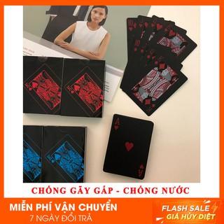 Bài tây Poker nhựa PVC cao cấp [ảnh thật]