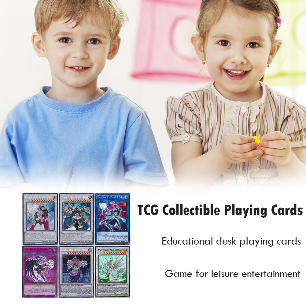 216pcs TCG English Collectible Game Cards for YuGiOh Legendary Hero Decks
