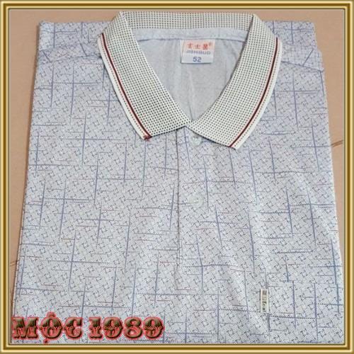 Áo phông nam cổ đức trung niên - đẹp lịch lãm-sang trọng
