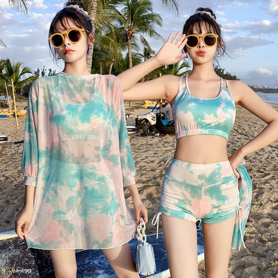 Bộ đồ đi biển áo tắm 3 mảnh (FreeShip) hàng Quảng Châu siêu xinh BIENLOANG