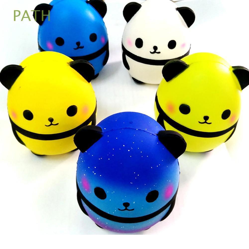 Soft PU Charm Simulation Decompression Kids Gifts Jumbo Panda Toy