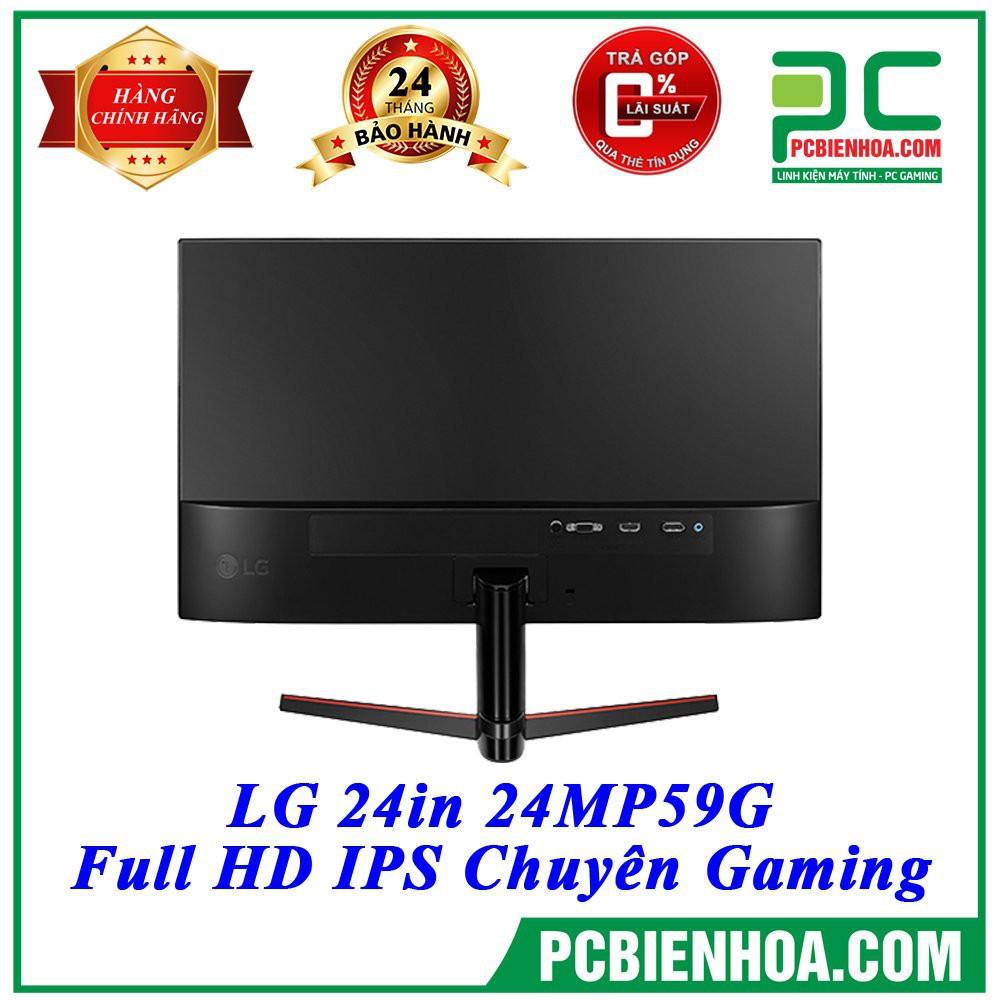 Màn hình máy tính IPS LG 24in 24MP59G chính hãng LG Việt Nam