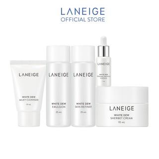 [HB GIFT] Bộ sản phẩm dưỡng trắng da White Dew Special Trial Kit 5 items thumbnail