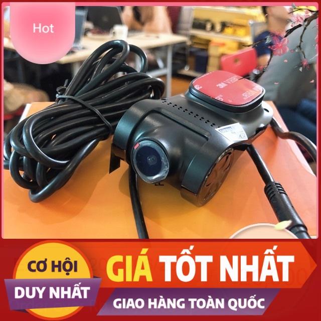 Camera hành trình ô tô u6 - camera hành trình có ADAS, GPS, cảnh báo va chạm - cắm cổng USB màn hình androi