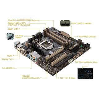 Main máy tính B85 socket 1150, main b85 giga d3v / d3h, colorful, biostar tb85, asus b85m gamer