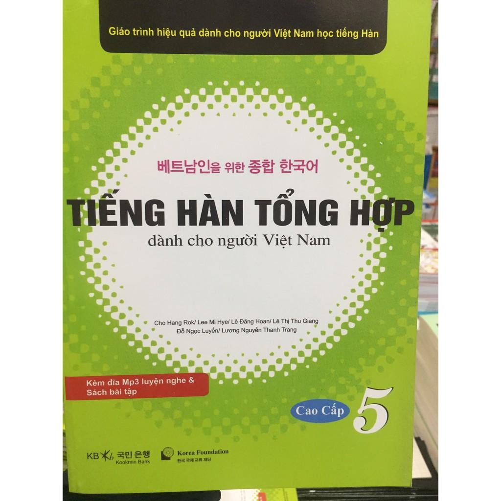 Giáo Trình Tiếng Hàn Tổng Hợp dành cho người Việt cao cấp 5