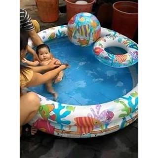 Bể bơi + phao + bóng cho bé