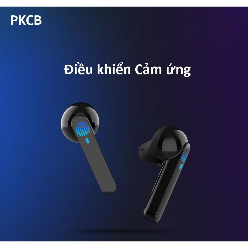 Tai Nghe True Wireless Bluetooth cảm ứng PKCB10 - Hàng chính hãng