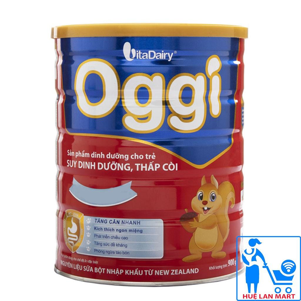 [CHÍNH HÃNG] Sữa Bột VitaDairy Oggi Hộp 900g (Dinh dưỡng cho trẻ SUY DINH DƯỠNG, THẤP CÒI)
