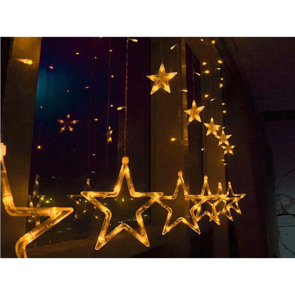 Đèn led rèm nháy Ngôi sao 2,5m đèn 138 led 12 ngồi sao 6 lớn 6 nhỏ - 22636493 , 2451498211 , 322_2451498211 , 180000 , Den-led-rem-nhay-Ngoi-sao-25m-den-138-led-12-ngoi-sao-6-lon-6-nho-322_2451498211 , shopee.vn , Đèn led rèm nháy Ngôi sao 2,5m đèn 138 led 12 ngồi sao 6 lớn 6 nhỏ