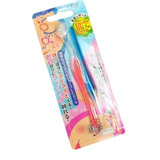 Bộ 2 dao cạo lông mày lưỡi ngắn (dễ cạo) KAI hàng Nhật thumbnail