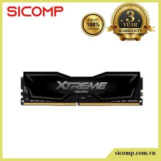 Ram OCPC (có tản) DRR4 Xtreme 3200 C16 8GB Black, bảo hành chính hãng 36 tháng thumbnail