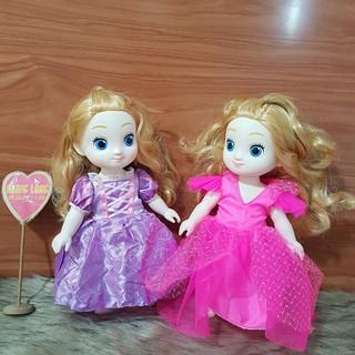 Búp bê Hàn Quốc Ellie thân nhựa 28 cm – Carriesofl and friends doll Korea 2017 (Quần Áo Ngẫu Nhiên)
