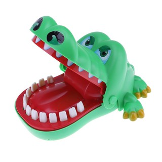Cute Large Crocodile Mouth Bite Finger Game Funny Toy Kids Children Gift