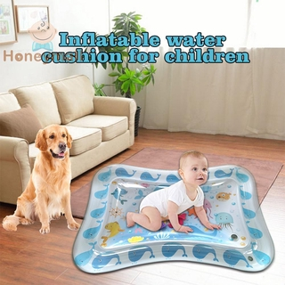 [Hot/COD] 70CM Baby Kid Water Play Mat Inflatable Thicken PVC Infants Gym Playmat