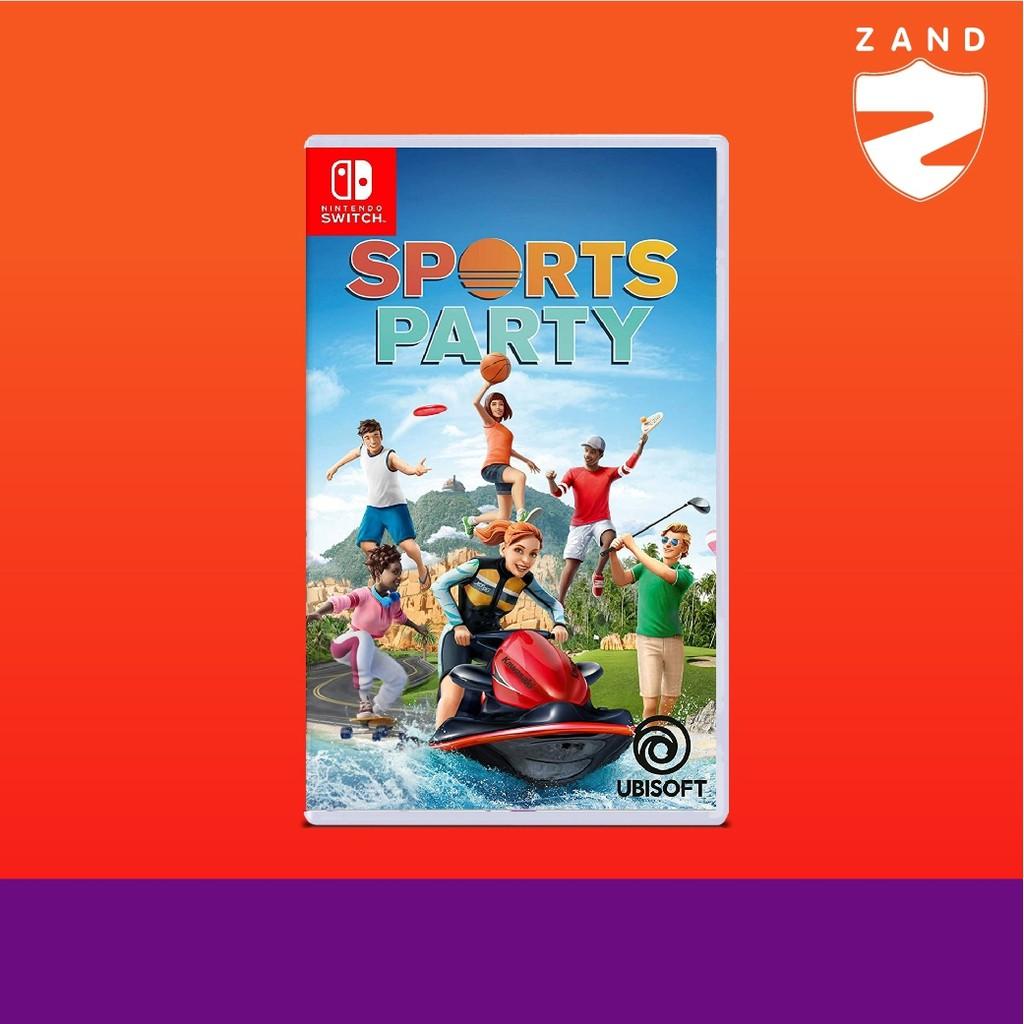 ĐĨA GAME SWITCH : SPORTS PARTY (R1)(EN)