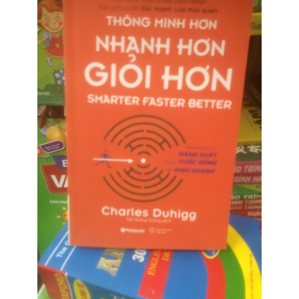 sách Thông minh hơn,nhanh hơn,giỏi hơn