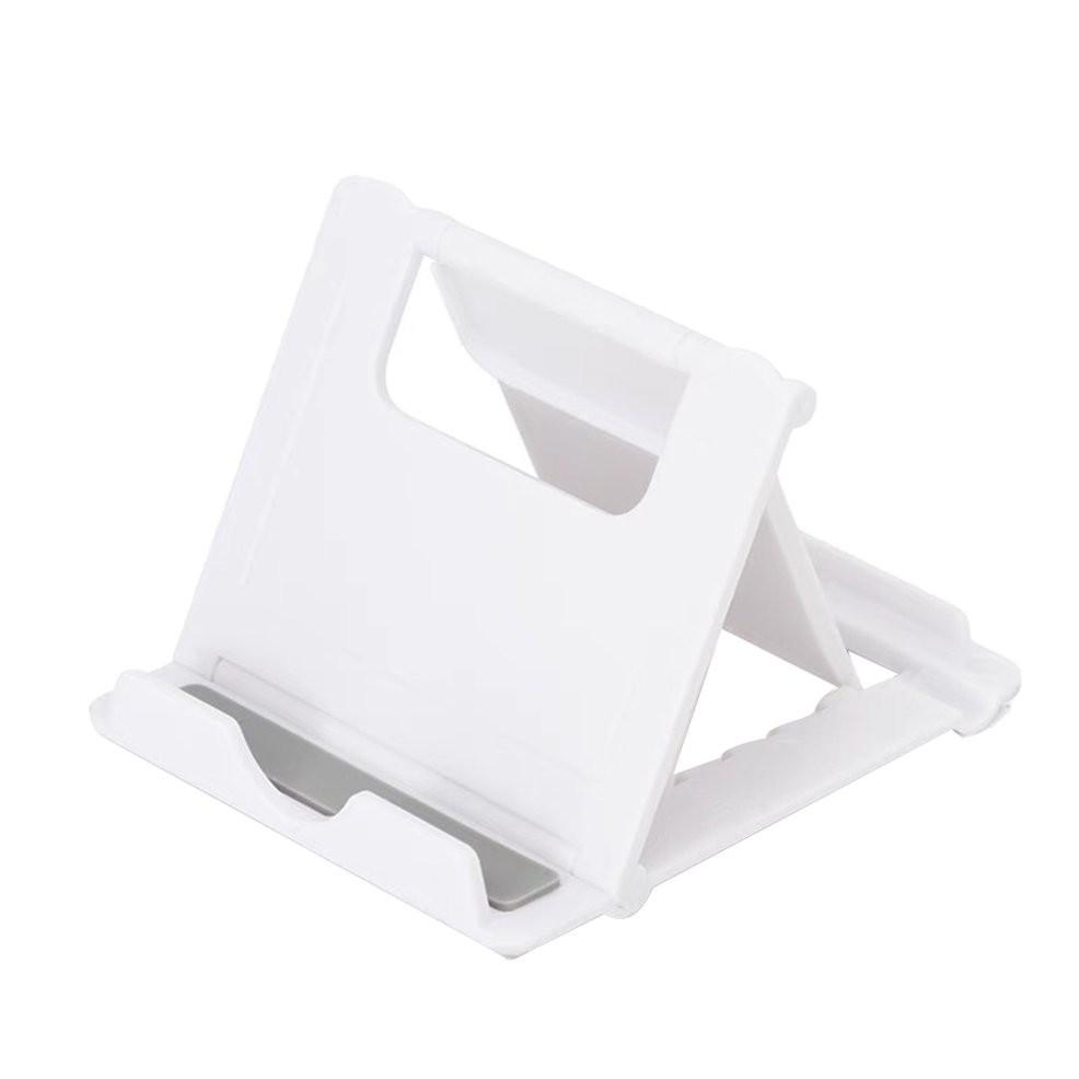 Giá đỡ đứng điện thoại / máy tính bảng gấp gọn tùy chỉnh màu trắng tiện dụng