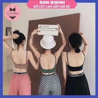 Áo Lót Nữ – Áo Bra Nữ chữ U hở lưng 2 dây không gọng nâng ngực gợi cảm co giãn mẫu BIGU