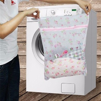Túi lưới giặt đồ hoa văn