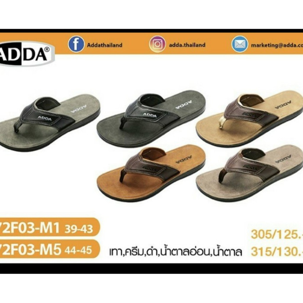 Dép nam ADDA Thái lan 72f03