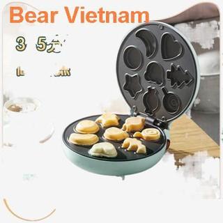❧❀♨▤Máy làm bánh Bear tại nhà Nướng nhỏ mini đa chức năng cho trẻ em quế trứng