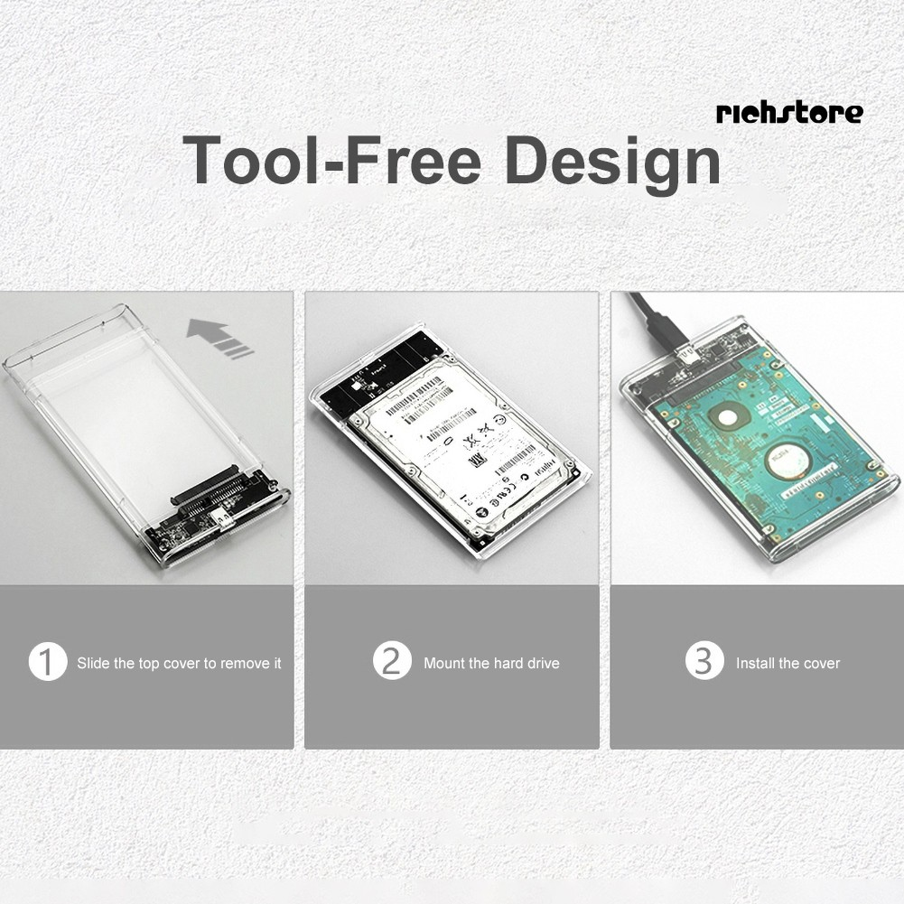 Ổ Cứng Di Động 2.5 Inch 6tb Usb 3.0 6gbps Cho Notebooks