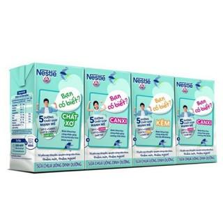 Vỉ 4 hộp 115ml Sữa chua uống dinh dưỡng Nestlé Yogu