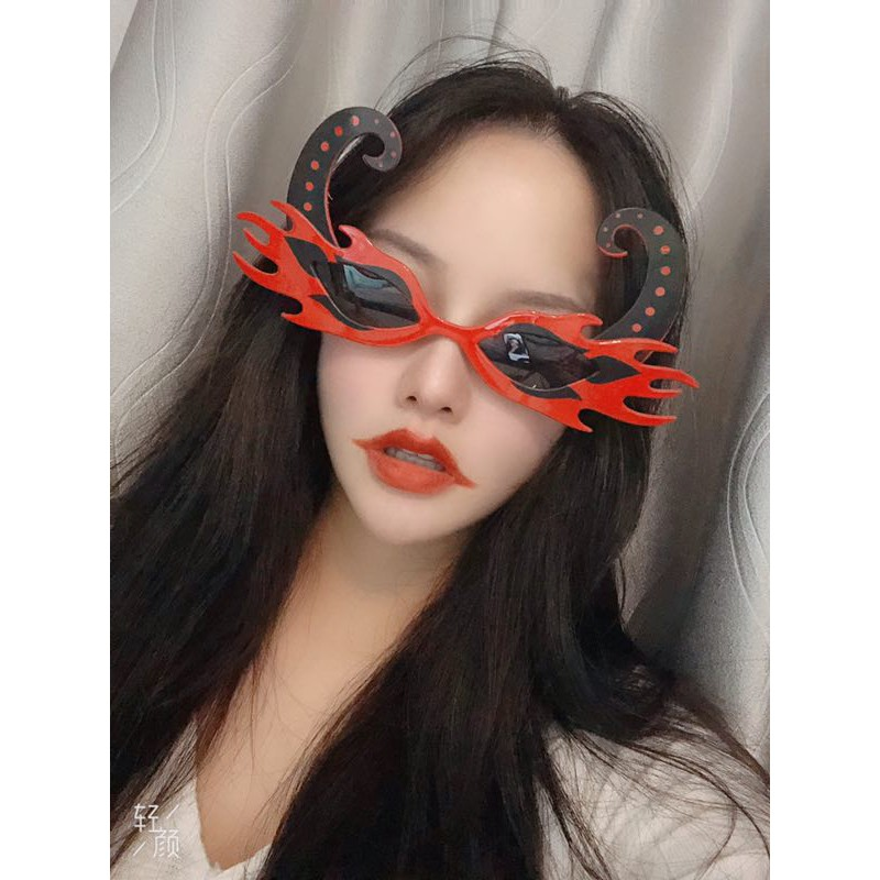 Bloody Halloween Funny Masquerade Party Prom Props Party Glasses Couple Girlfriends Funny Sunglasses
