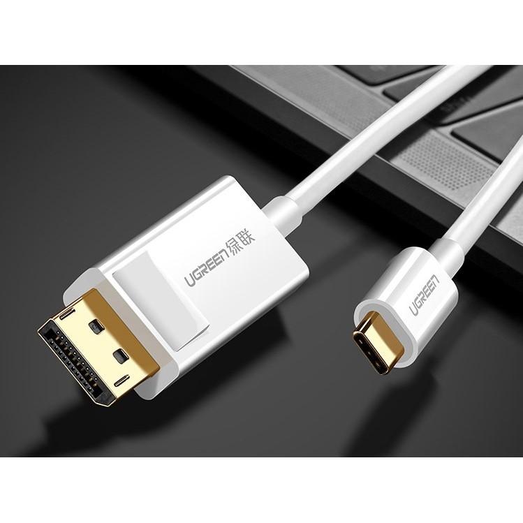 Cáp Chuyển USB Type-C To DIsplayport Dài 1.5M UGREEN 40420 - Hỗ Trợ 2K*4K