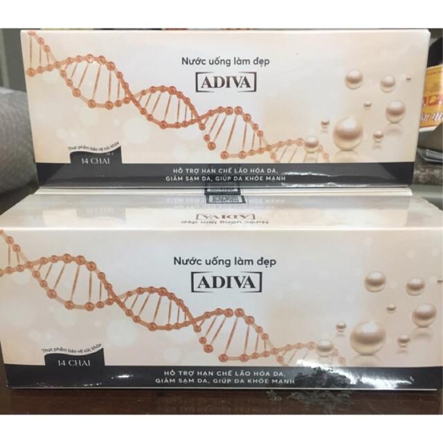 (CHÍNH HÃNG) Collagen adiva 14 lọ nước/ hộp