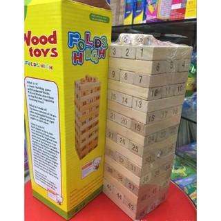 Bộ rút gỗ to 48 thanh (28cm) | botmau0654